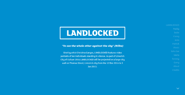 Landlocked Website